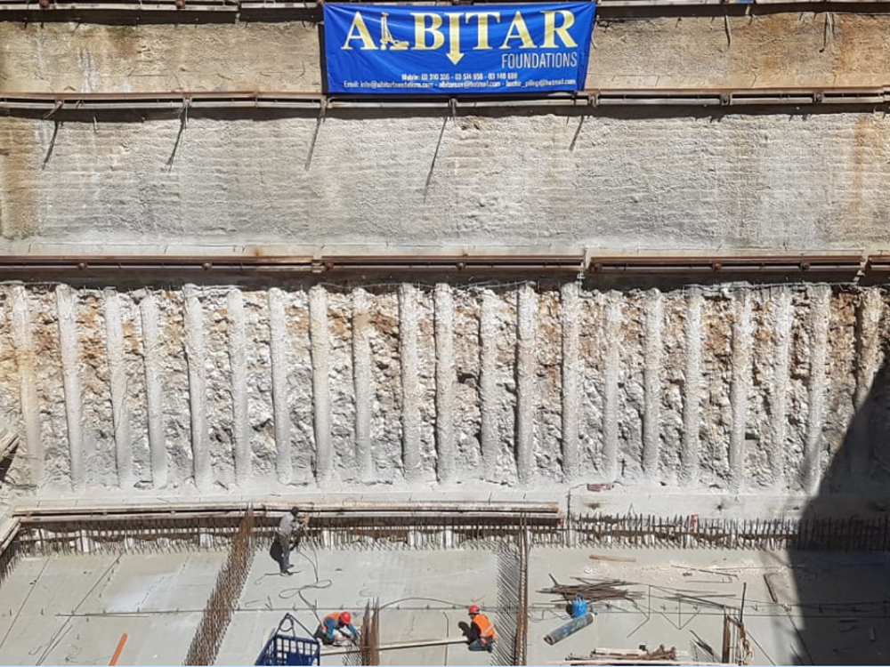 Albitar Foundations - Geotechnical - Engineering - Shoring - Excavation - Lebanon - Service 4